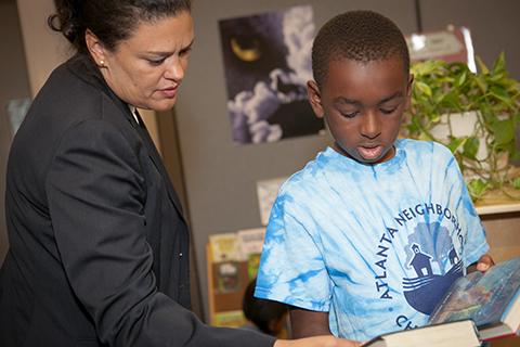APS Superintendent Visit