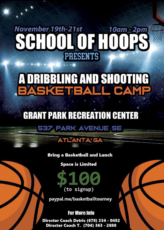 Thanksgiving Break Basketball Camp - Atlanta Neighborhood