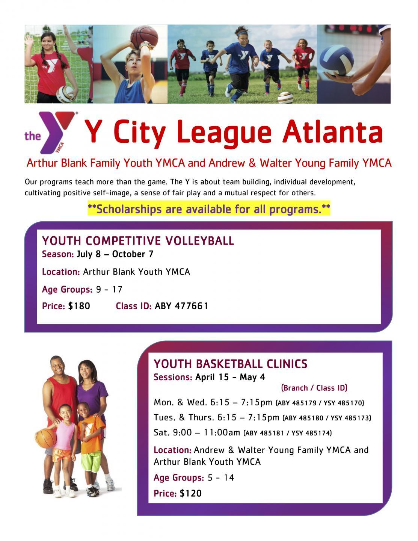 Y City League Atlanta Sports - Atlanta Neighborhood Charter